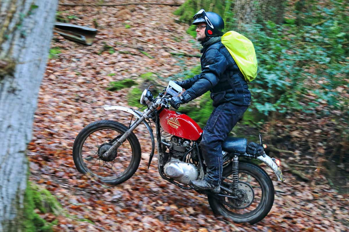 Triumph on Exeter Trial