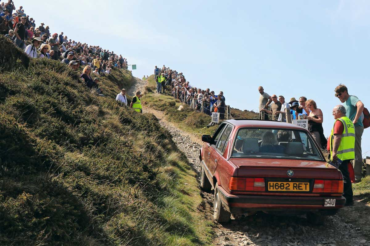 BMW on Blue Hills