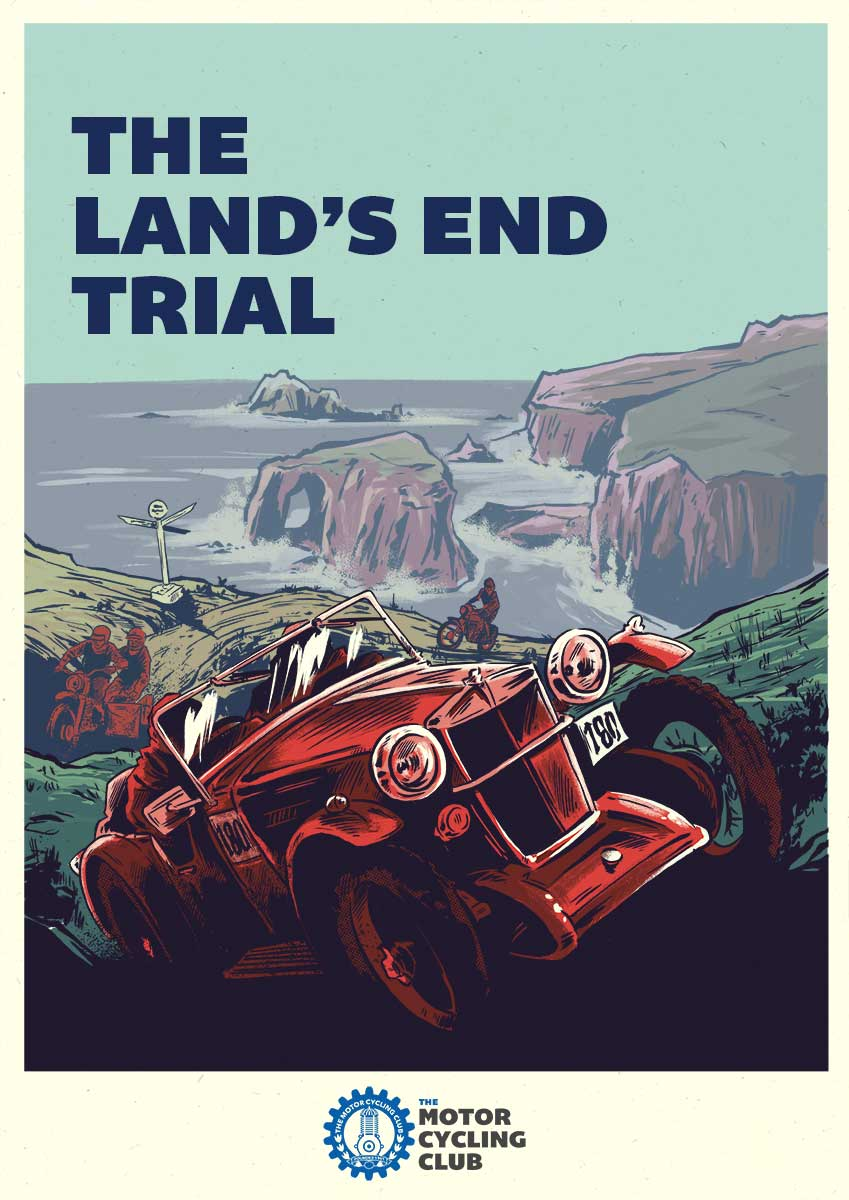 The Land's End Trial poster