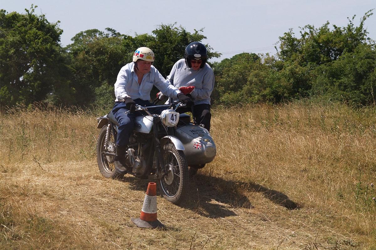 Testing Trial sidecar