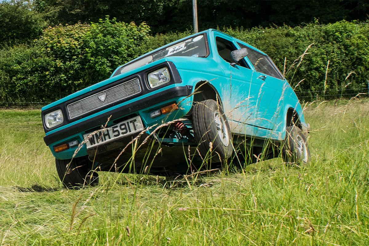 Testing Trial car