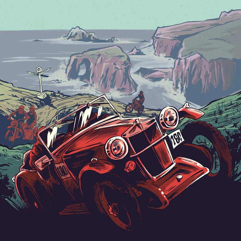 Land's End illustration